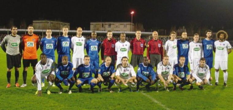 Mickael Caradec, coupe de France 2011/2012