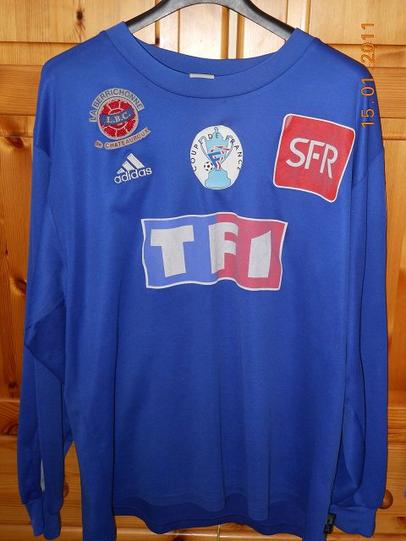 Mohamed Benabdellah coupe de France 2003/2004 (porté à Grenoble, 04/01/2004, 32ème de finale)