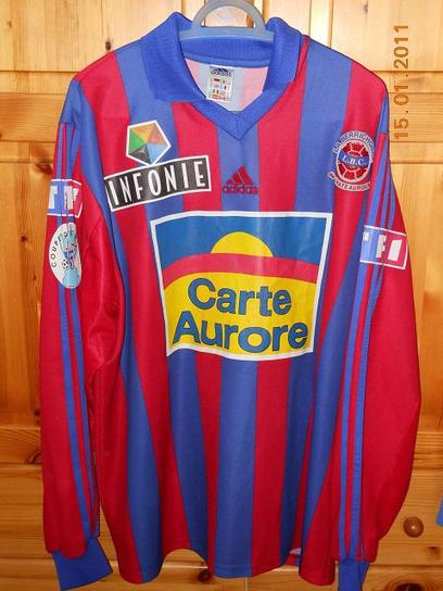 Stéphane Laquait, coupe de France 2000/2001 (porté contre Grenoble le 10/03/2001, 8ème de finale)