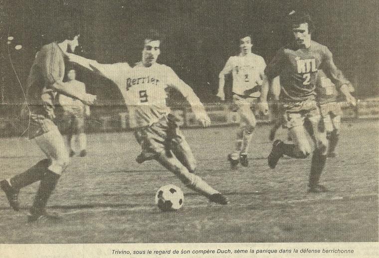 Philippe Devault, coupe de France 1976/1977