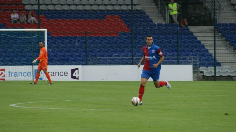 Vincent Fernandez, coupe de la ligue 2009/2010 (porté contre Clermont le 01/08/2009, 1er tour)