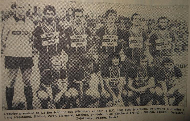 Denis Merigot, survêtement 1978/1979