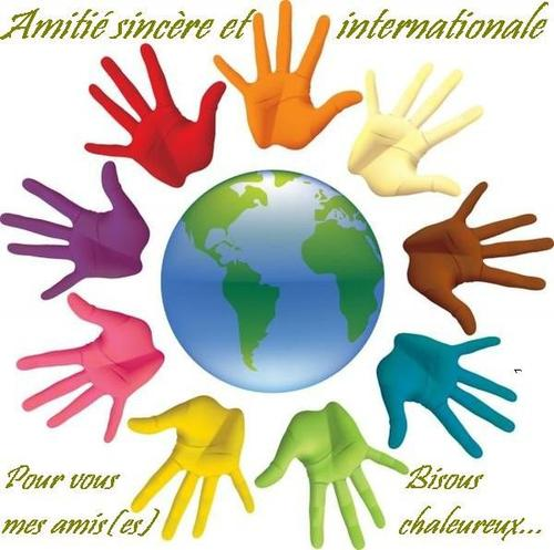 JOURNEE INTERNATIONALE DE L'AMITIE