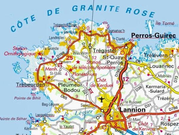 RANDONNEE SUR LA CÔTE DE GRANIT ROSE