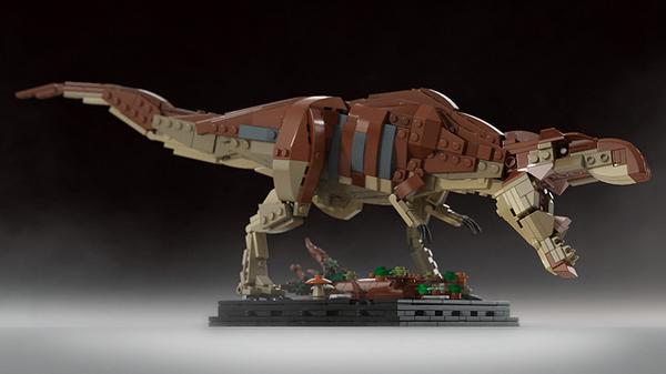 Lego Jurassic Park : Des magnifique mocs