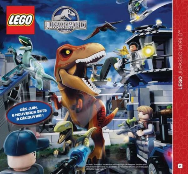 Lego Jurassic World : La première image !