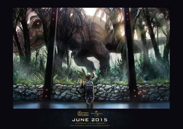 Jurassic World : Une magnifique affiche pour le film
