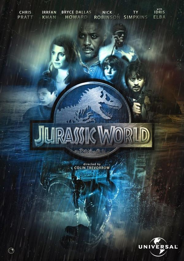 Jurassic world : Peut être l'affiche officielle