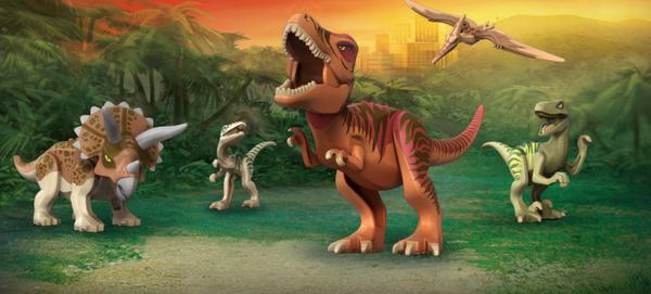 Lego Jurassic world : Les nouveaux dinosaures ?