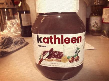 Mon pot de Nutella