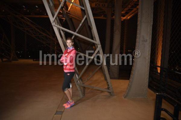 Camille Cerf - Eco Trail La Verticale Tour Eiffel