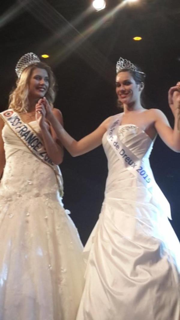 Camille Cerf - Election Miss Pays de Dreux