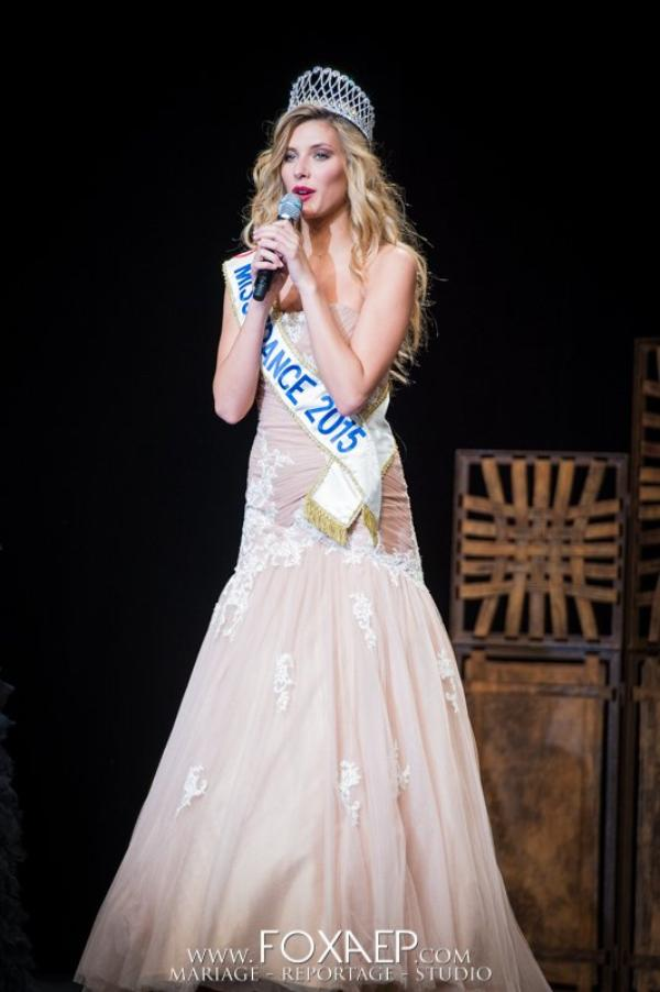Camille Cerf - Election Miss Saone et Loire