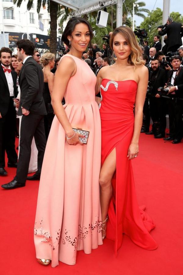 Valérie Bègue / Cindy Fabre - Festival de Cannes