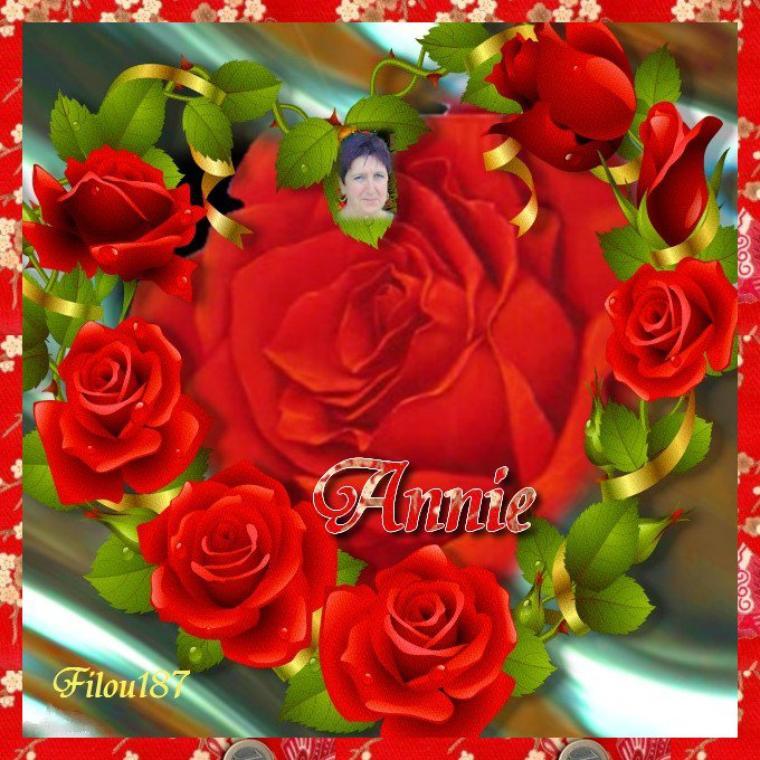 Bon Anniversaire Annie Filou816 11 Juin Plein De