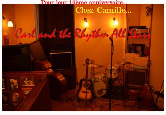 10ème Anniversaire CARL & THE RHYTHM ALL STARS ! ! !