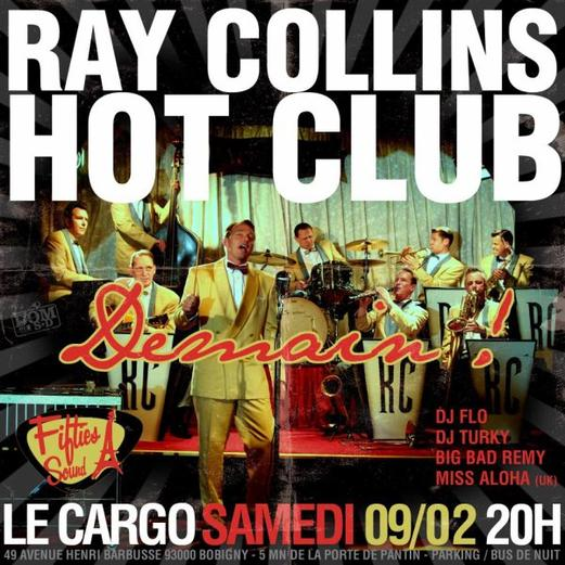 RAY COLLINS HOT CLUB à PARIS