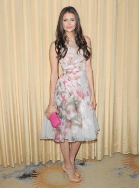 10 Janvier 2012: Nina était présente à la soirée Forevermark & InStyle's 2012 Golden Globes Event  à Beverly Hills.