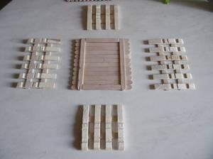 Cagette en bois pour Pâques