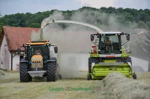 RARE : Ensilage de Foins 2017 | Claas Jaguar & Quadrant 3300 | ETA Cyrille Potard
