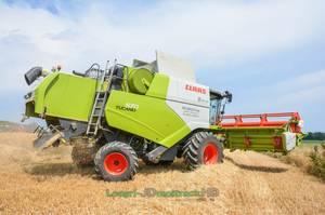 Moisson/Harvest 2017 | NEW Claas Tucano 570 !