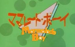 Puis avec mon vingtième deuxième ème mangas quand j'avais 14-15 ans et c'était Marmalade Boy