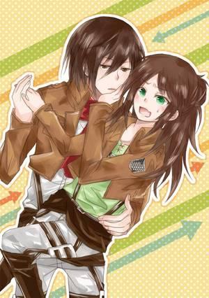 Os: Eren x Mikasa numéro 9