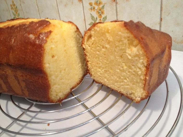 Cake imbibé aux citrons
