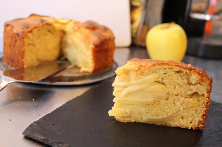 The big gâteau aux pommes