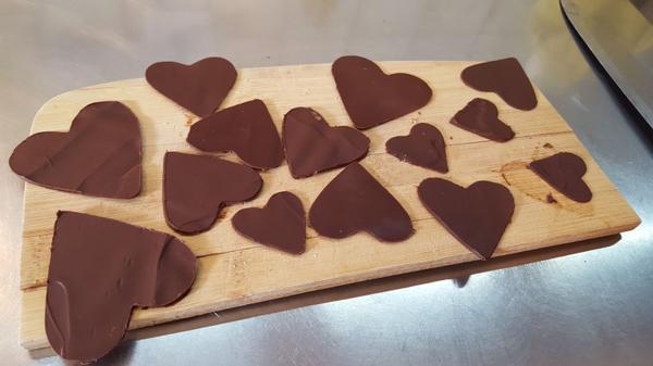 Entremet 2 étages mousse chocolat praliné