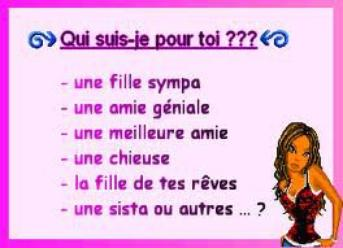 La question qui tue :p