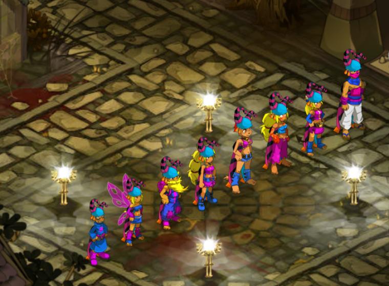 Changement de couleur de la team.