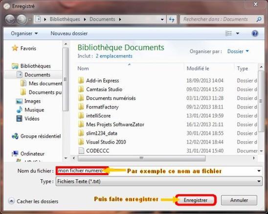 Explication du logiciel BLCnote 2014 que j'ai programmer