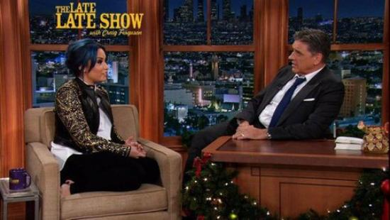 LE 09/12 - Demi s'est rendu au The Late Late Show with Craig Ferguson !!
