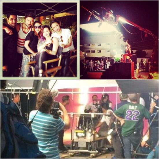 LE 08/06 - Demi est aller chanter à la LA Pride Parade, en Californie !