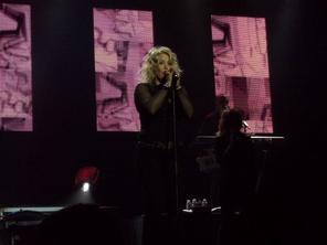 Je suis allé voir Kim Wilde a Paris au Trianon le 4 octobre 2012