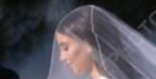 voici le debut de la robe de marier de kim kardashian 2014 avant les episodes  suite et fin