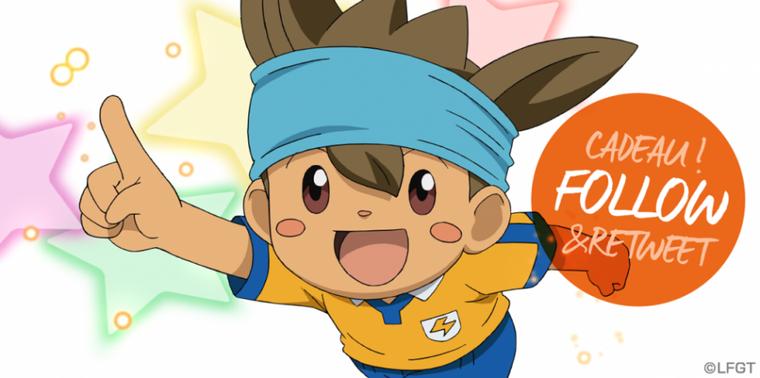 Concours Inazuma sur Twitter !