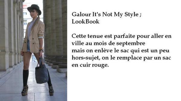 Tenue Spécial LookBook