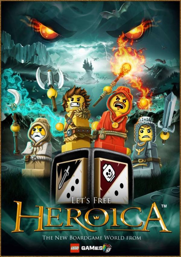 Légo Héroïca, jeu de société.