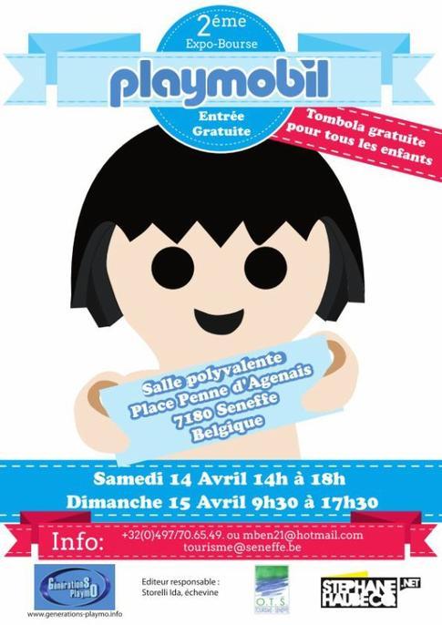 Exposition de Playmobil en Belgique : Seneffe 2012 (2ème édition)