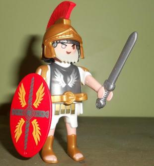 Playmobil Romain et Gladiateur (ref : 5817)