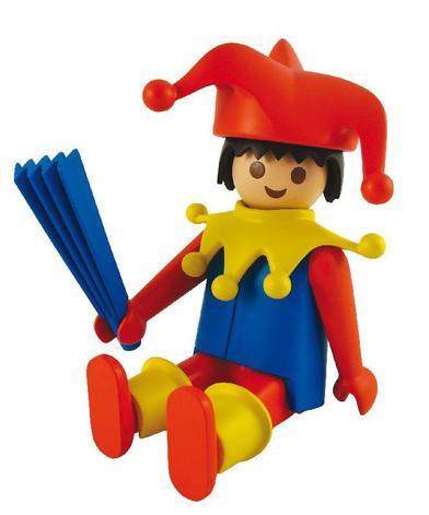 Playmobil géant.