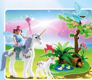 Un monde féérique en Playmobil pour 2013