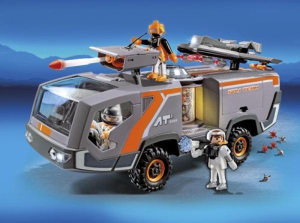 Playmobil ref  5286. Camion des agents secrets.