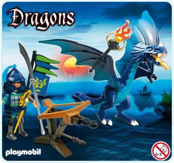 Playmobil Nouveautés 2013 Thème dragons asiatique.