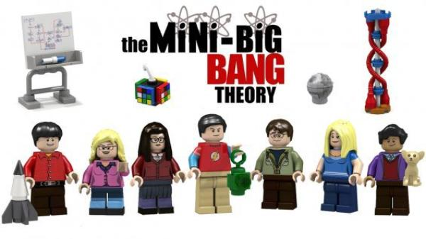 The Big Bang Theory en Lego :)