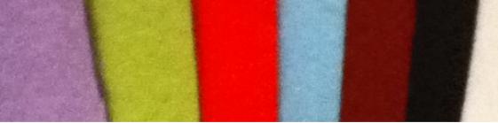 les couleur de fletrine proposer