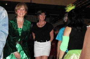 Notre rendez-vous mensuel à La Vie En Rose , pour fêter la St Patrick ...Encore une superbe soirée toute en couleurs avec mes amies !!