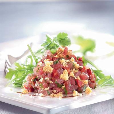 Pour celles qui m'avaient demander la recette du tartare de thon tahitien voici la recette que Lucie m'a envoyer en commentaire sous l'article concerné (Tag 285) Posté le lundi 14 avril 2014. Bon appétit